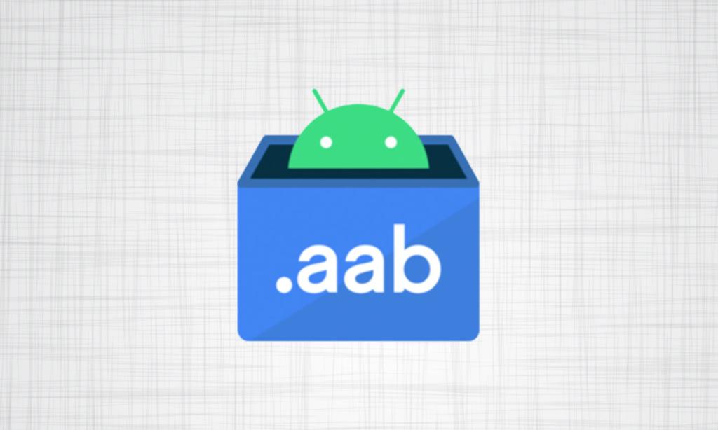 AAB format instead of APK