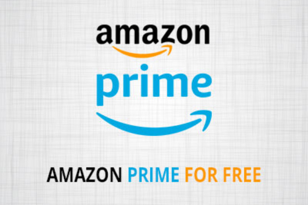 Amazon Prime for free