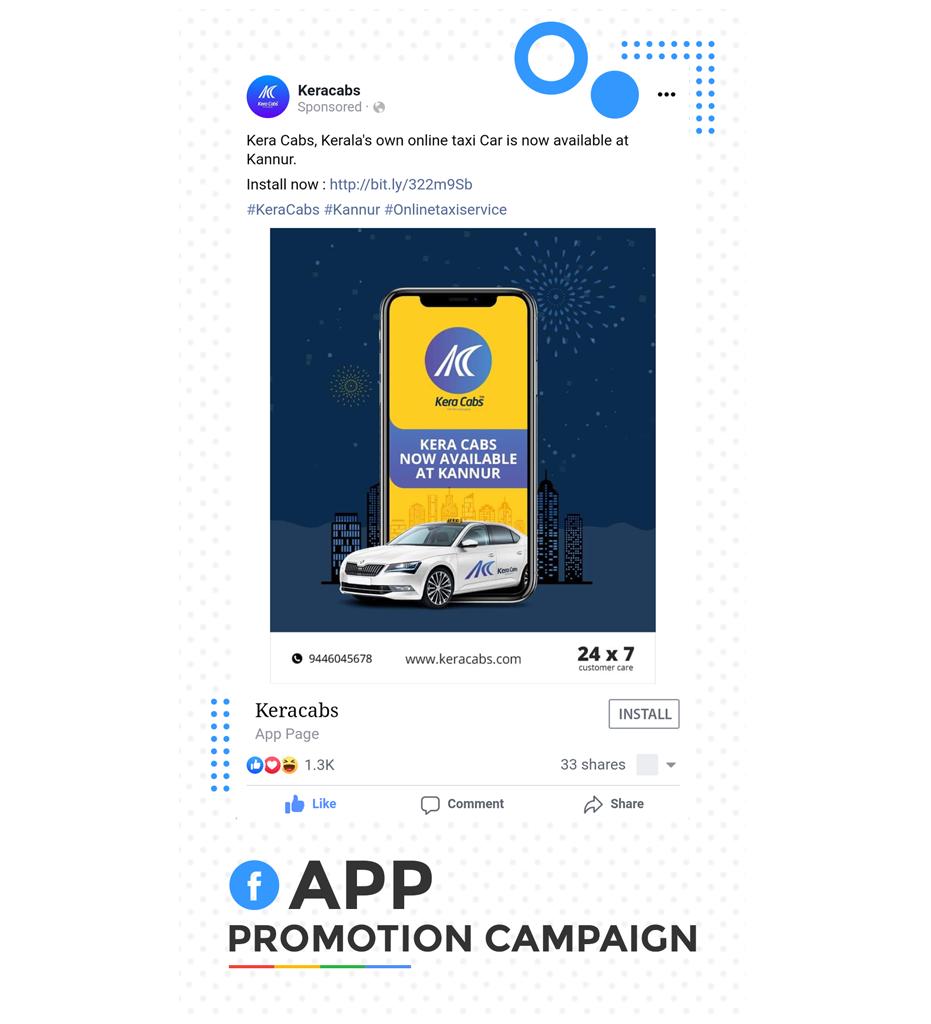 Facebook App Promotion Campaign