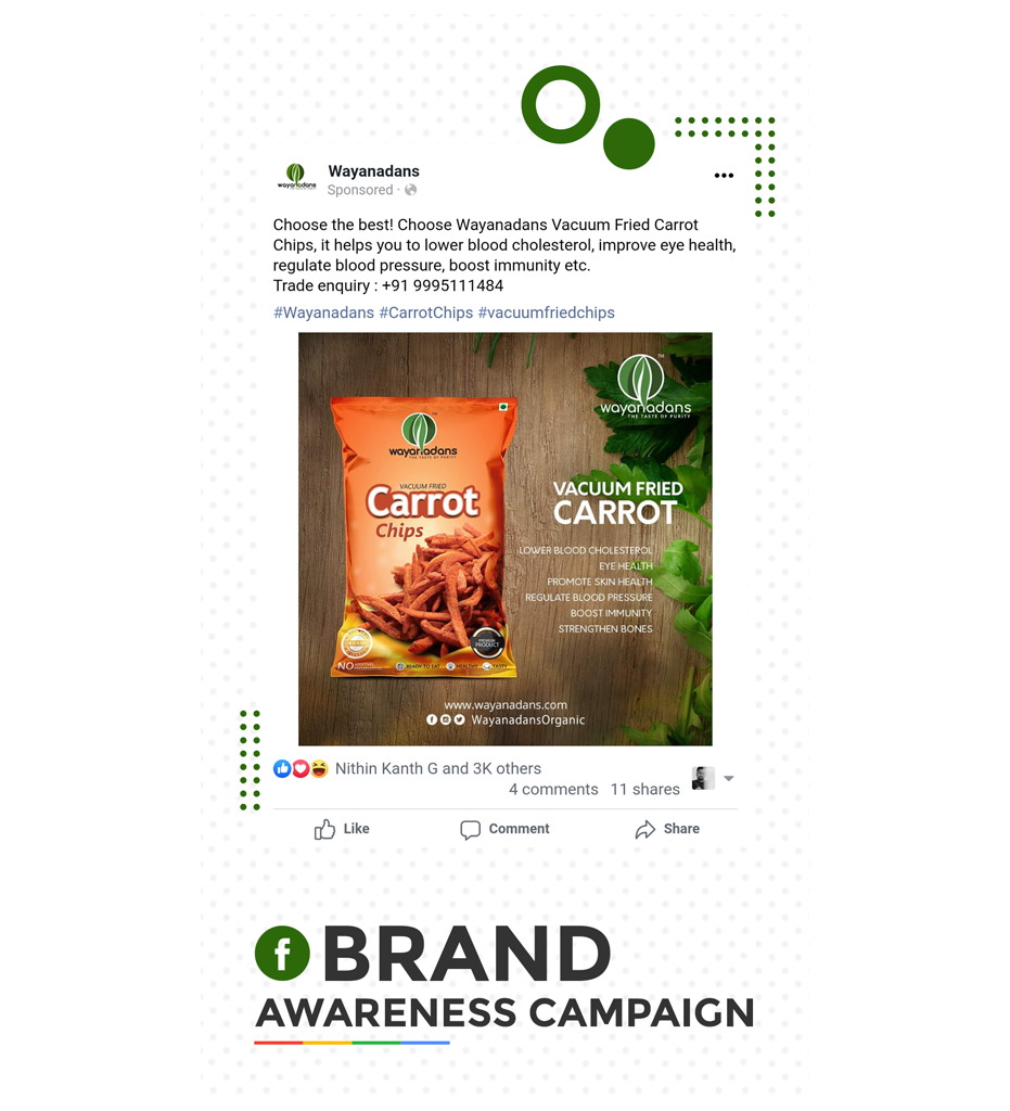 Facebook Brand Awareness Campaign