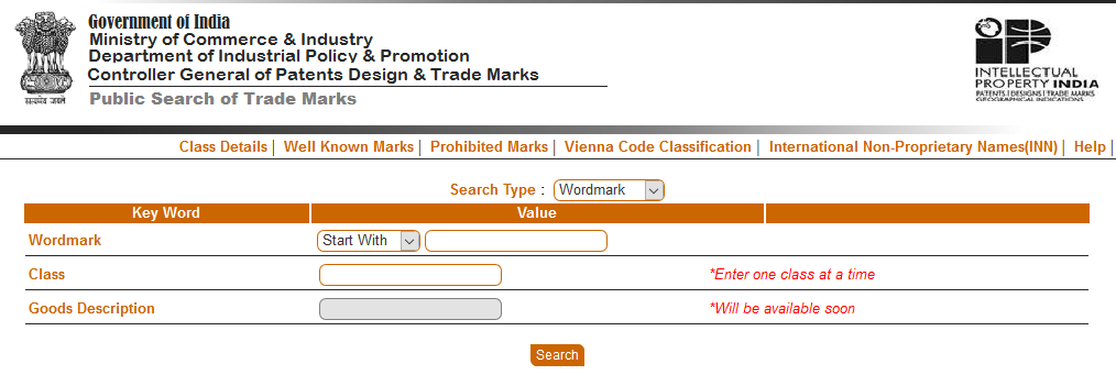 How to do Trademark Search ?