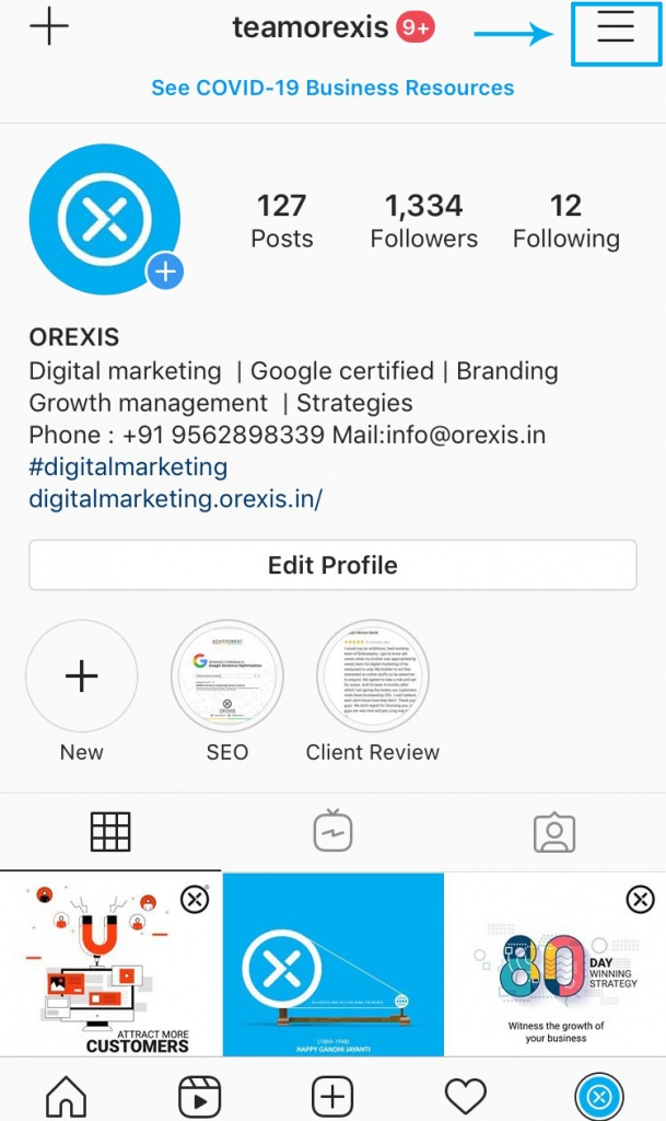 How to Convert Your Personal Instagram Profile to a Business Profile