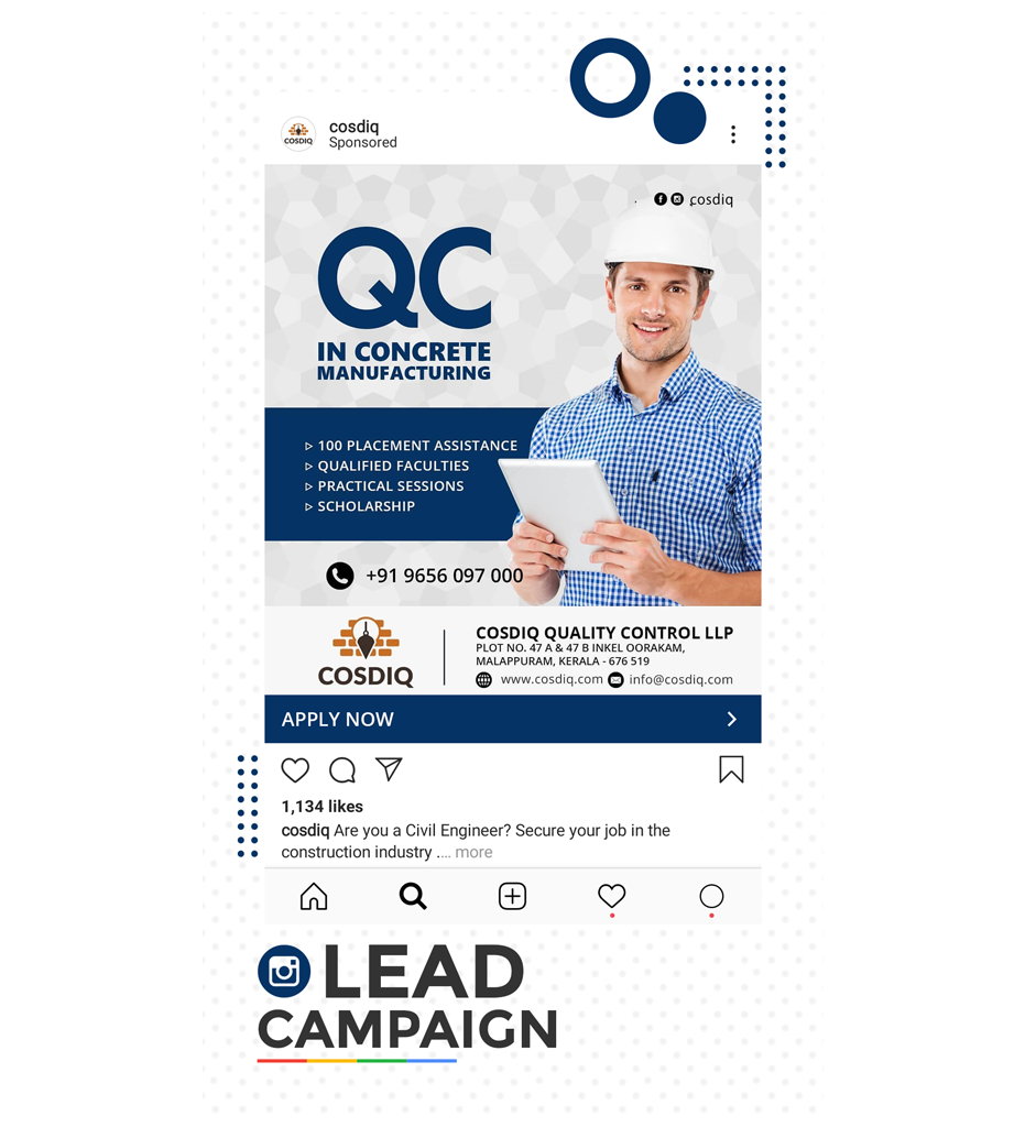 Instagram Lead Generation Campaign Kerala